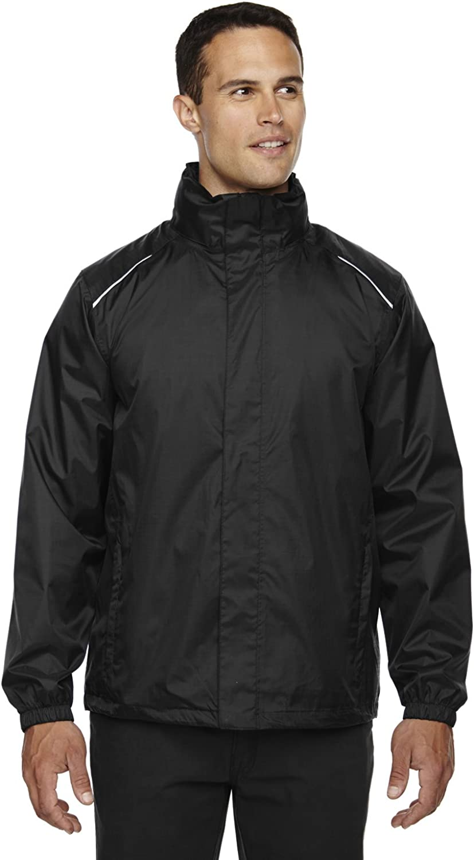 B00EQKN5WU Ash City Mens Climate Ripstop Jacket (XX-Large, Black) 61N8GT2MEtL