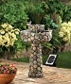Garden Solar Relaxation Indoor Outdoor Water Fountain Pet Pond Mainstays Pump Waterfall Home Feng Sui