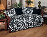 Kimlor Black Zebra Daybed Cover Set Review