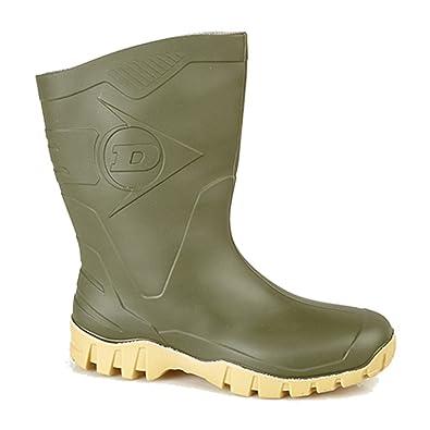 großartige Qualität suche nach neuestem Ausverkauf Dunlop Gummistiefel, weiter Schaft, halbe Wadenhöhe, Grün oder Schwarz