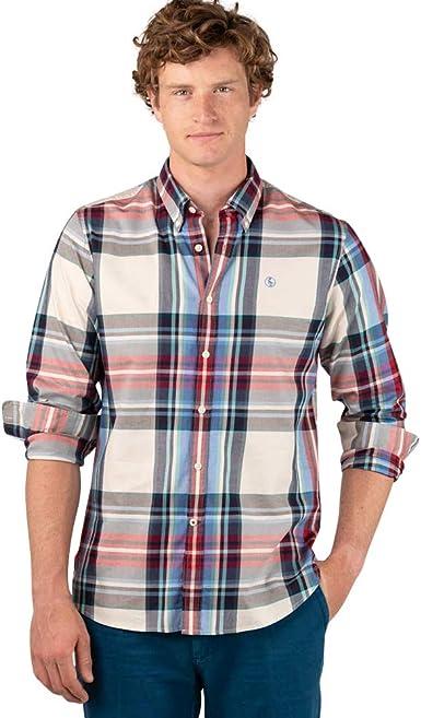 El Ganso Casual INTERSEASON Camisa, Multicolor (Varios 0045 ...