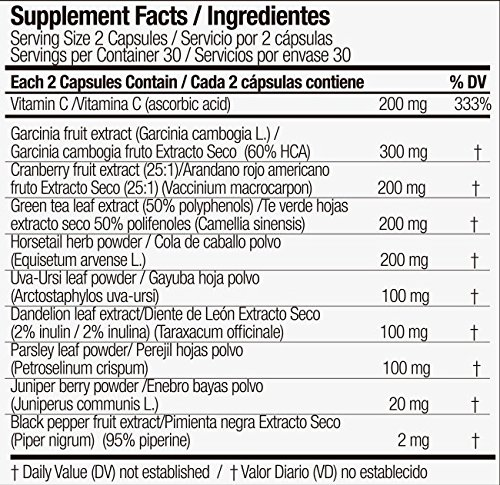 Squeeze - Diuretic for Men & Women by Sculpt - 100% Natural & Safe - Eliminate Subcutaneous Water - Optimal Hydration in Muscle Tissue - Perfect Tune-Up - Lose Weight & Lose Swelling, 60 caps