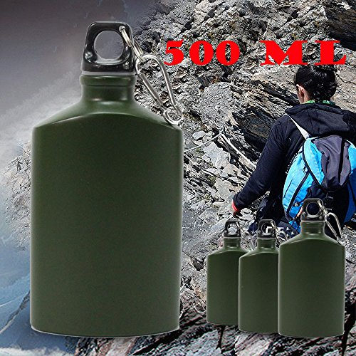 Aobiny Water Bottle, 500ml Travel Drink Bottle for Camping Cycling Sport by Aobiny