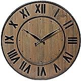Infinity Instruments Wine Barrel 24 in. Wall Clock