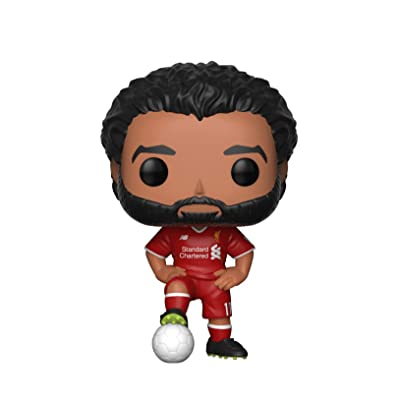 Funko Pop! Football: Liverpool- Mohamed Salah Standard: Toys & Games