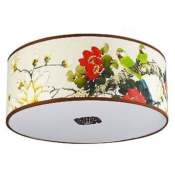 GB Moderne Schlafzimmer Lampen Wohnzimmer Lampen Malerei Lampen Kreisförmige  Decken