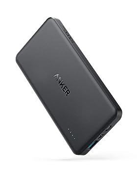Anker Batería Externa PowerCore II Slim 10000mAh Ultra Thin Powerbank para iPhone X 8 8Plus 7 6s 6 Plus, iPad, Samsung Galaxy y Otros Dispositivos