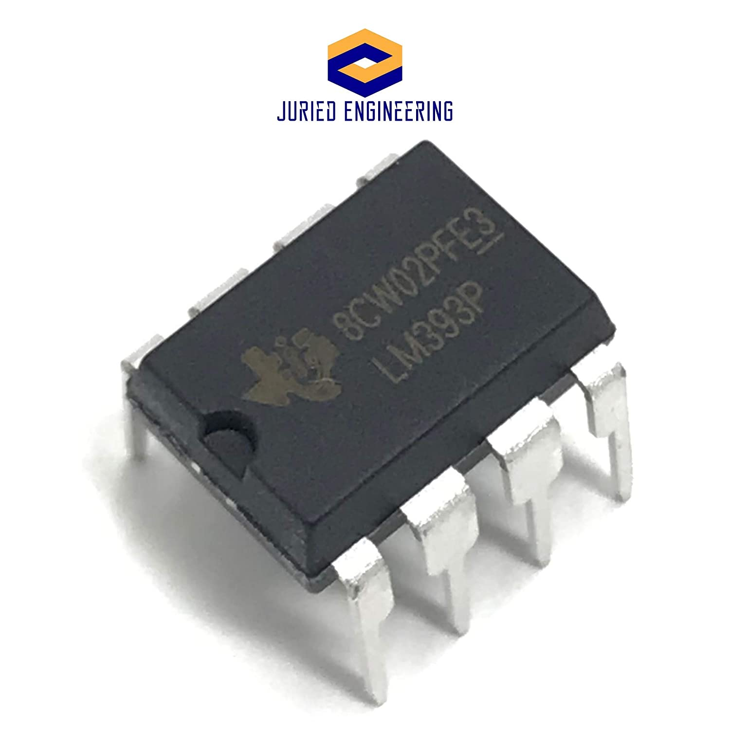LM393 IC Low Power Dual Voltage Comparator Texas Instruments DIP8 LM393P LM393N