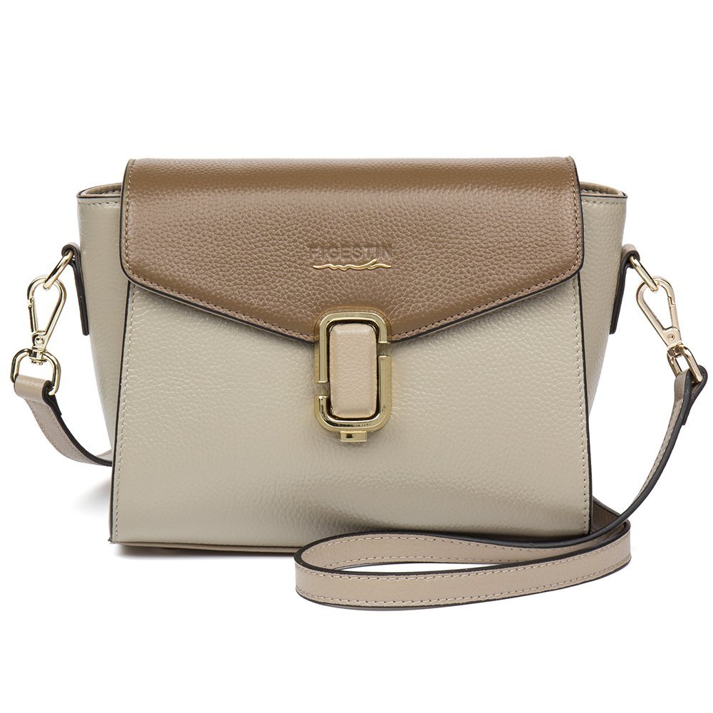 7ad40336d5  Clearance  FIGESTIN Women Genuine Leather Crossbody Bags Lightweight Small  Modern Shoulder purse handbags  Amazon.in  Shoes   Handbags