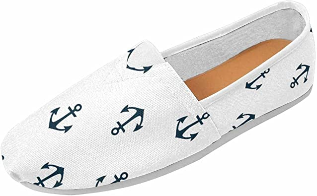 InterestPrint Womens Classic Flat Slip On Comfort Loafer Sneaker Shoes Lemons