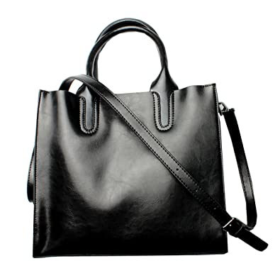 Amazon.com: heshe Mujer Bolso de piel bolsa de funda para ...