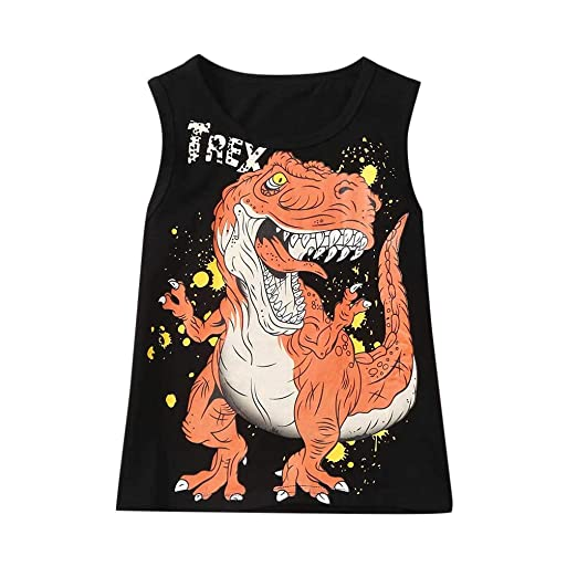 Baiomawzh Ropa Bebe Niño Camiseta Estampada Dinosaurio para ...