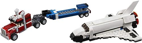 LEGO Creator 3 in 1 Shuttle Transporter 31091 Building Kit