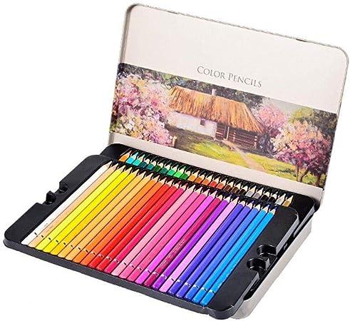 TTZ Lápices de Colores Set de Arte de lápices de Dibujo Profesional con Estuche de Cremallera