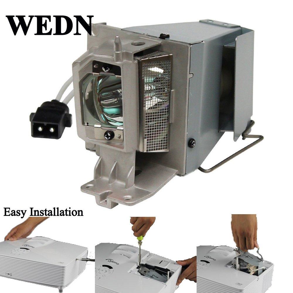 EH200ST BR323 SP.8VH01GC01 S316 HD26 W316 X316 DH1009 BR326 Supermait BL-FP190D DX346 GT1080 SP.73701GC01 L/ámpara de repuesto para proyector con carcasa para OPTOMA HD141X