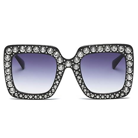 Gafas de Sol para Mujer, diseño de Cuadros de imitación con ...