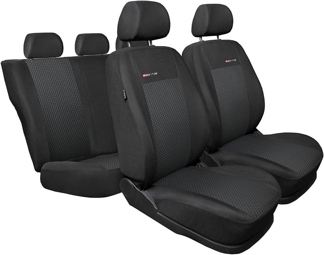 Strickpolster /®Auto-schmuck Fabia I 2//1 grau Skoda Fabia Sitzbez/üge nach Ma/ß Autoplanen perfekte Passform Schonbez/üge Sitzschoner Velour