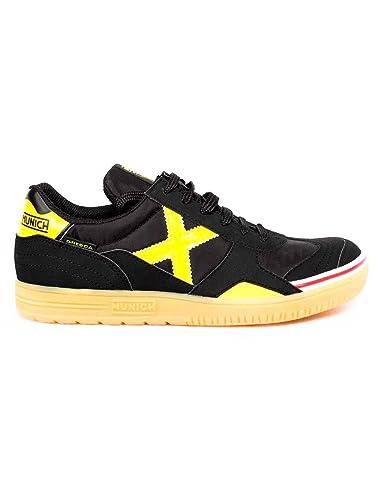Munich Gresca Kid S, Zapatillas de Deporte Unisex niño, (Negro/Amarillo 02), 36 EU: Amazon.es: Zapatos y complementos