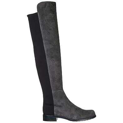 meilleur authentique 8c34b 73cd1 Stuart Weitzman Bottes Femme Grigio: Amazon.fr: Chaussures ...