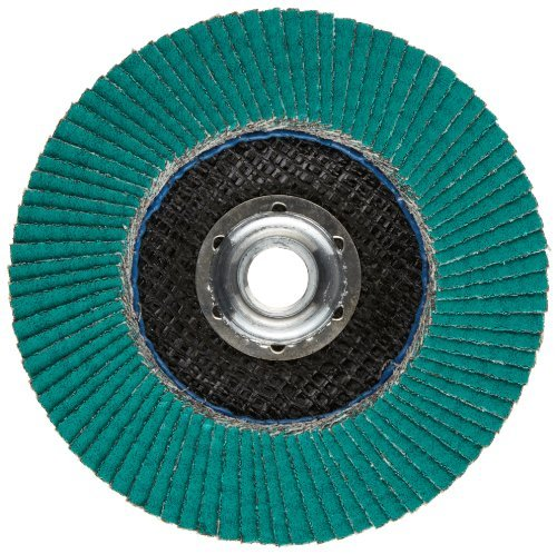 3M Flap Disc 577F, T29 Quick Change, 4-1/2 in x
