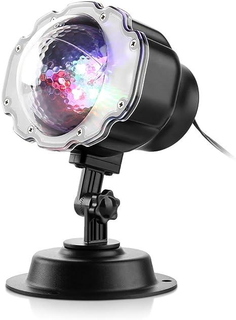Zanflare LED luces del proyector de efecto de nieve al aire libre ...
