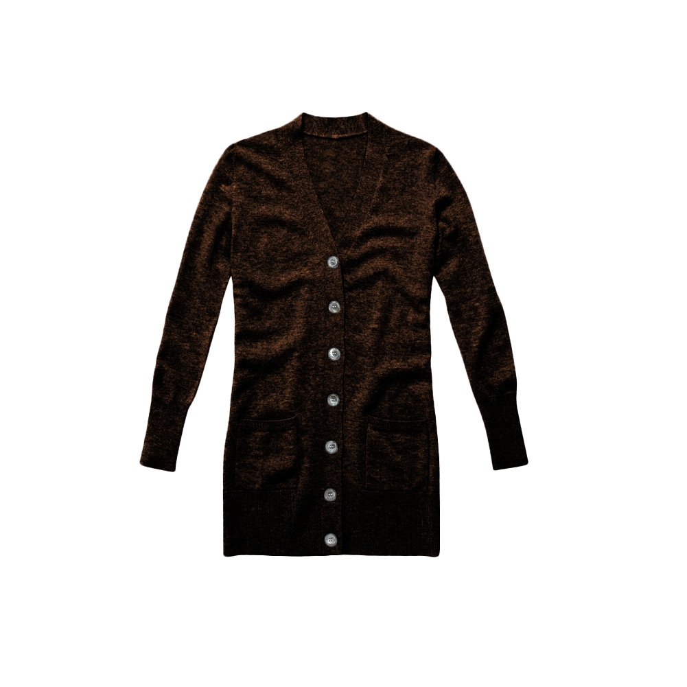 Parisbonbon Womens 100/% Cashmere V-Neck Cardigan
