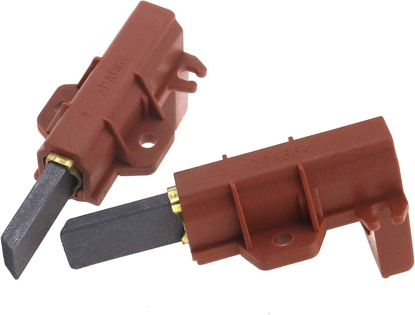 OTOTEC - 2 cepillos de Carbono para Motor de Lavadora
