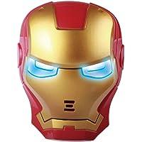 HALO NATION® Superhero The Avengers Costume LED Light Eye Mask - Ironman Mask