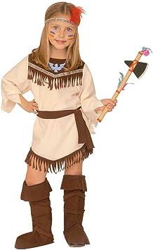 NET TOYS Disfraz de Indio para niños Traje Carnaval Pocahontas ...