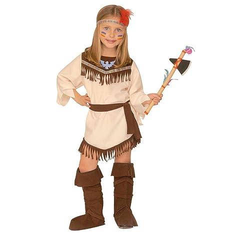 indiana carnevale bambina  NET TOYS Costume indiana bambine nativa americana Pocahontas ...