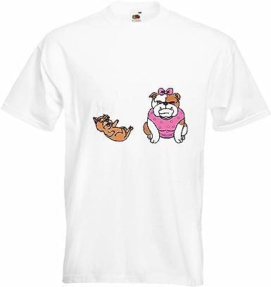T-Shirt Camiseta Remera Bulldog Ingles con SU Bulldog Inglés ...
