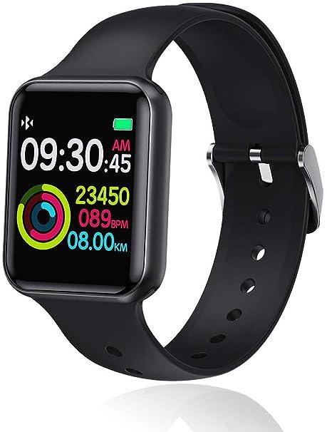 naack Pulsera Actividad, smartwatch, Reloj Inteligente Impermeable ...