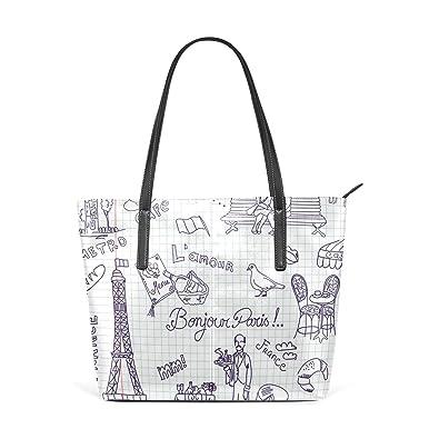 ab638465d926 Image Unavailable. Image not available for. Color  MALPLENA Paris Vibe designer  handbags for women Soft Work Bag