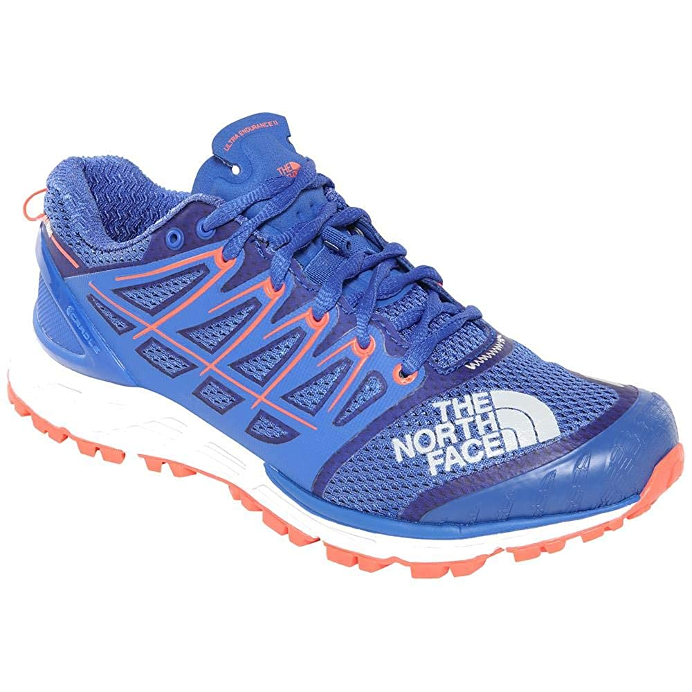 Dazzling bleu Fiery Coral 6.5 US The North Face W Ultra Endurance II, Chaussures de Fitness Femme