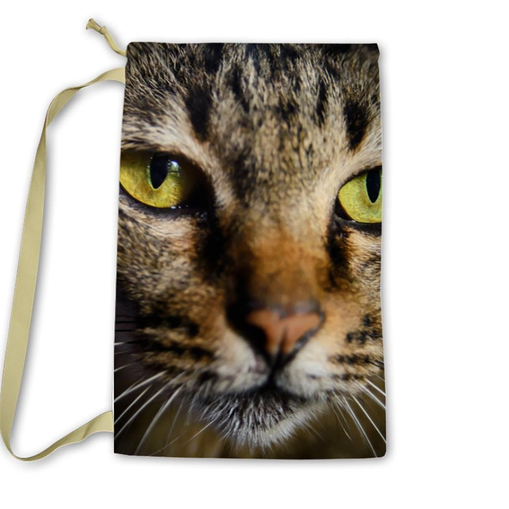 Pixsona Thai Cat Close Up Laundry Bag by Pixsona