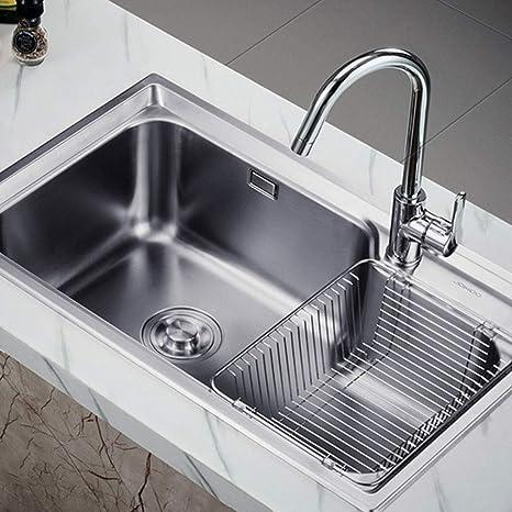 Kitchen Sink. Fregaderos de un Seno Fregadero de Cocina ...