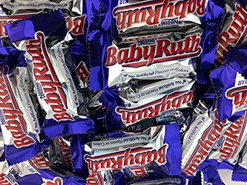 Baby Ruth Fun Size Bars,Small 3 LB Bulk -