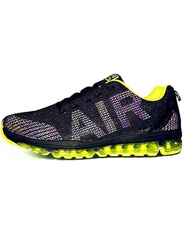 aefc7e404c08 Homme Femme Chaussures de Sport Baskets Course Running Sneakers Respirantes  et Légères