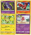 Pokemon - Oricorio Complete Bird Set (4 Versions) Sun Moon Guardians Rising - Rare Pokemon Card Lot