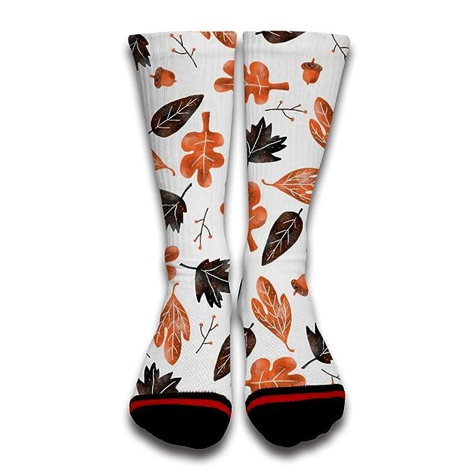 EbroSiempre 3D Impreso Calcetines de Algodón para Hombre y Mujer Transpirables Calcetines Gracioso de Negocios y Uso Diario White: Amazon.es: Ropa y ...