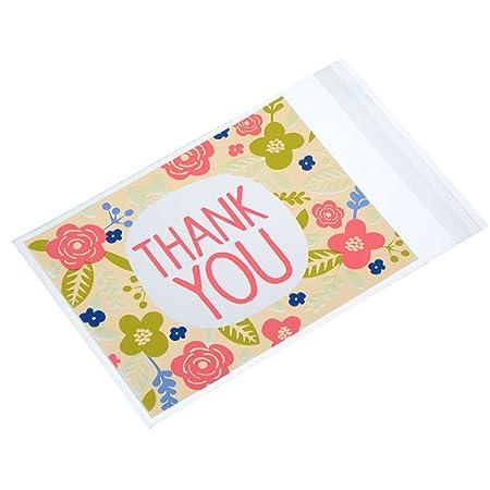 Haodou 100pcs Cookies Bag Christmas Candy Christmas Birthday