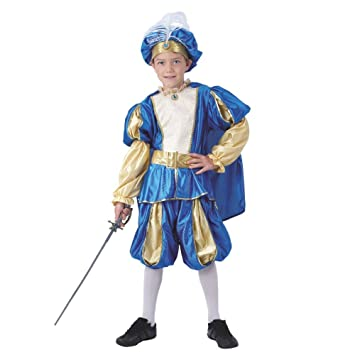 Krause & Sohn Disfraz de Niño Traje Medieval Prince Azzuro ...