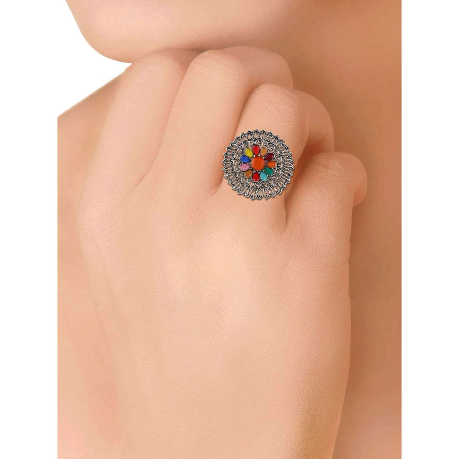 Amazon.com: Efulgenz Boho Floral Multicolor Vintage Gypsy ...