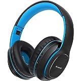 Bluetooth Headphones Over Ear, BLARO Hi-Fi Deep Bass Wireless&Wired Headsets, 72 Hours Playtime, Soft Memory Protein Earmuffs