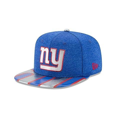 Amazon.com   NFL New York Giants 2017 Draft On Stage 9Fifty Snapback ... bcca02962c7d