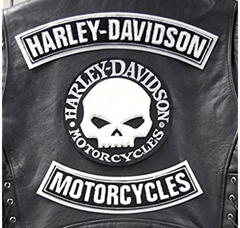 /Harley Owners Group/ /Eagle parche termoadhesivo bordado cm 26/x 20/Replica Patch Harley Davidson Hog Patch/