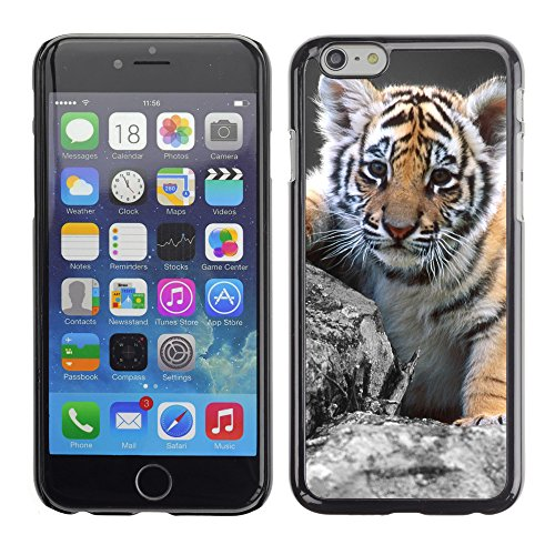 Premio Sottile Slim Cassa Custodia Case Cover Shell // V00003222 mignon petit tigre // Apple iPhone 6 6S 6G 4.7""
