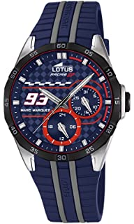 Lotus Multifunction Marc Marquez edition blue color polyurethane band