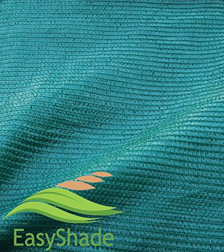 EasyShade Grn70 Sunblock Green 70% Shade Cloth UV Resistant Fabric 12ft x 6ft