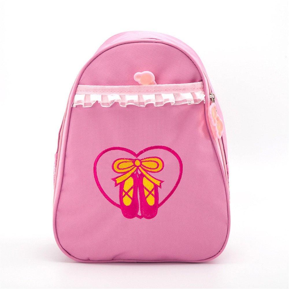 DoGeek Bolsa de Ballet niña Bolsa de Danza con diseño de Zapatos de Ballet los niños pequeños Mochila ES-DG-Ballet bag-Messenger